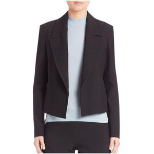HUGO BOSS Jeletti Blazer Open Front Jacket Black